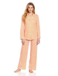 Hue Sleepwear Womens Dash Foulard Two Piece Set Clothing