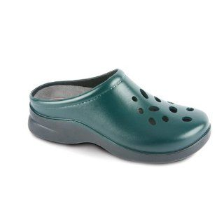 Klogs USA Womens BISCAYNE Clog,Forest Green,14 W US Shoes