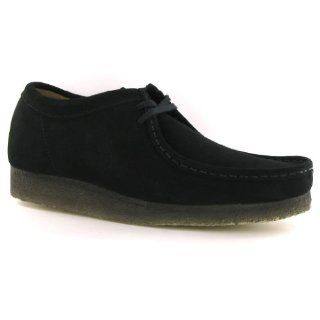 Clarks Wallabee Black Suede Womens Shoes Size 11 US: Shoes