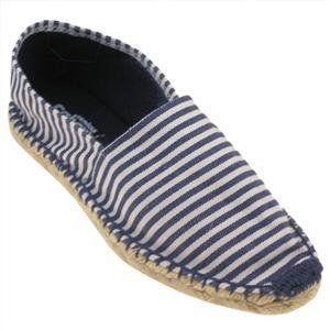 Espadrille Fabric Lining & Fabric Covered Tpr O/S Navy Combo 10 Shoes