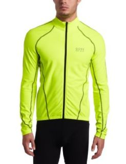 Gore Bike Wear Mens Contest Thermo Jersey Neon Clothing