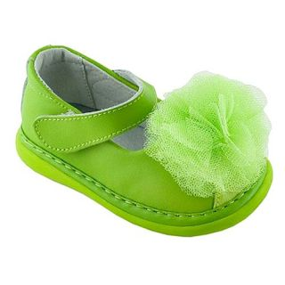 Net Flower Maryjane Shoes Baby Toddler Girl 3 12 Wee Squeak Shoes