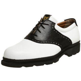 Michael Toschi Mens G1 Golf Shoe,Black/White,12 M US Shoes