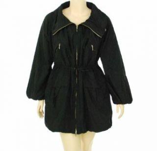 Weekend Max Mara Overcoat Black 14: Clothing