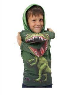 Kids Raptor Hooded Shirt, 14 Clothing