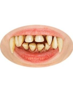 Halloween Vampire Teeth   One Size Clothing