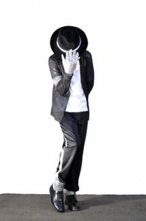 Kids Michael Jackson Billie Jean Child Costume MEDIUM