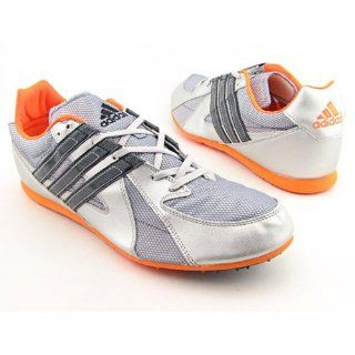 com Adidas Titan LD Mens SZ 15 Silver Cleats Track Field Shoes Shoes