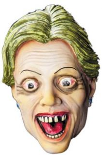 Zombie Hillary Clinton Halloween Masks Clothing