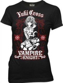 Vampire Knight Yuki Cross Junior T shirt Black (XL