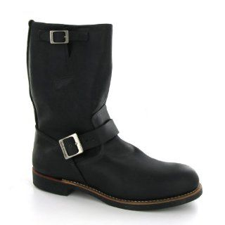 Red Wing 02990D Black Leather Mens Boots Shoes