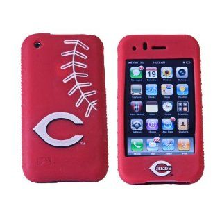 MLB Cincinnati Reds Cashmere Silicone Iphone Case Sports