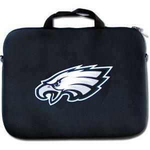 Philadelphia Eagles NFL Team Logo Neoprene Laptop Bag