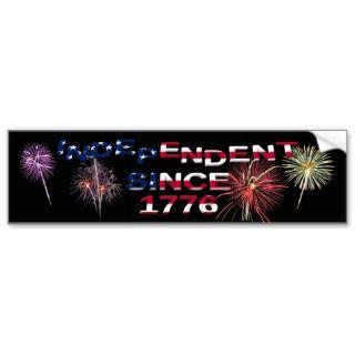 4th of July Fireworks Bumper Sticker