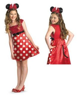 Disney Minnie Mouse Clubhouse Tween Costume Clothing