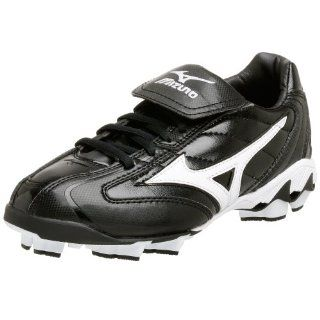 Low G4 Cleat (Little Kid, Big Kid),Black/White,2.5 M Little Kid Shoes