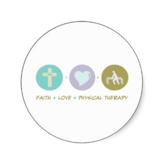 Faith Love Physical Therapy Stickers