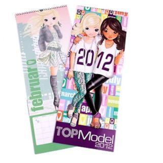 Grand calendrier mural 2012 Top Model Une page par mois avec grandes