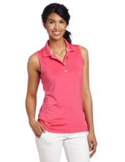 Jack Nicklaus Apparel Womens Dry Range Solid Sleeveless