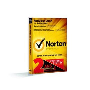 Norton Antivirus 2012 Ed. Limitée   3 postes 2 ans   Achat / Vente