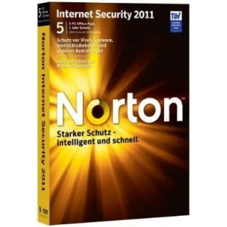 2011   5 User   Achat / Vente ANTIVIRUS Norton Internet Security 2011