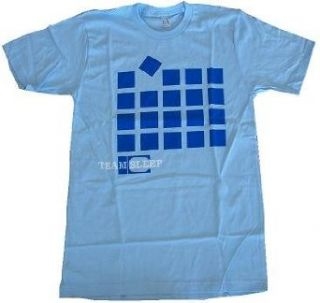 TEAM SLEEP   Blocks   Light Blue T shirt   DEFTONES