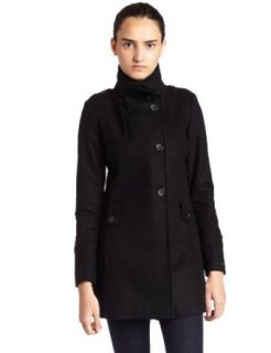 Tommy Hilfiger Womens Wool Blend Coat Clothing