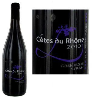 2010   Achat / Vente VIN ROUGE Le Côtes du Rhône 2010