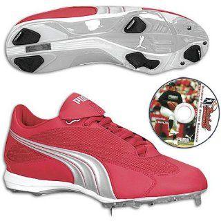 PUMA Ultraspeed Low   Mens ( sz. 16.0, Red/Silver ) Shoes