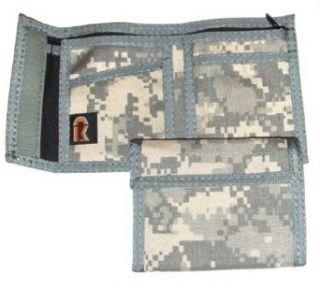 Military Army Camo Nylon Bifold Wallet   ACU Pattern