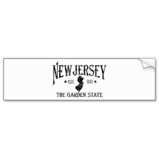 Jersey Bumper Stickers, Jersey Bumper Sticker Designs