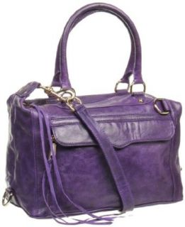 Rebecca Minkoff Mab Patent 10NILLCHO2 Shoulder Bag,Grape