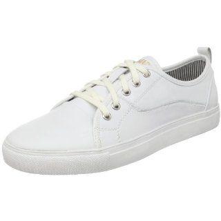 com Steve Madden Mens Corsair Lace Up,White Leather,11.5 M US Shoes