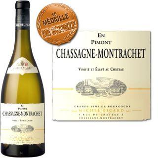 Michel Picard Chassagne Montrachet en Pimont 2008   Achat / Vente VIN