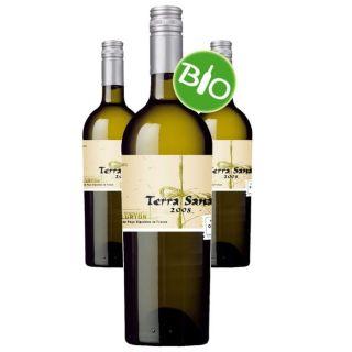 Sana 2008 (3 bouteilles)   Achat / Vente VIN BLANC Terra Sana 2008