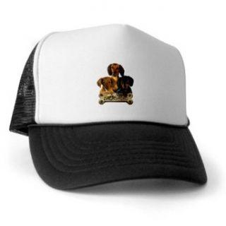 Artsmith, Inc. Trucker Hat (Baseball Cap) Dachshund Trio