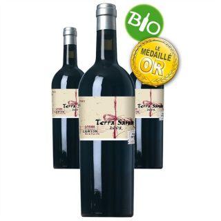 Sana 2008 (3 bouteilles)   Achat / Vente VIN ROUGE Terra Sana 2008