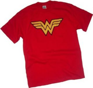 Wonder Woman Logo Adult T Shirt Clothing