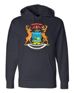 MICHIGAN STATE FLAG HOODY Unisex Fleece Sweatshirt