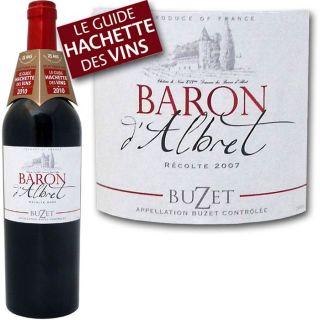 2007   Achat / Vente VIN ROUGE Baron dAlbret 2007