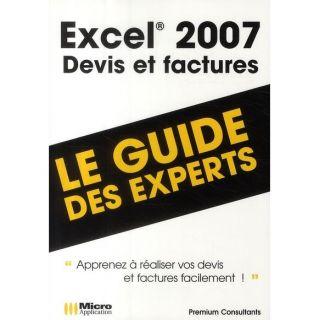 Excel 2007 ; devis et factures   Achat / Vente livre Pierre Polard
