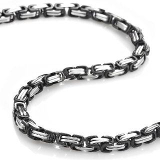 Mechanic Style Stainless Steel Mens Necklace Chain 55 cm