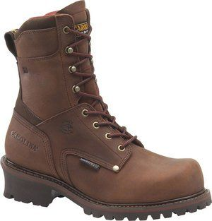 Carolina Mens 9 Inch Broad Toe Ins WP Logger Shoes
