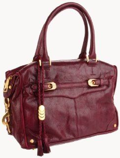 : Rebecca Minkoff Mab Buckled Shoulder Bag,Raspberry,One Size: Shoes