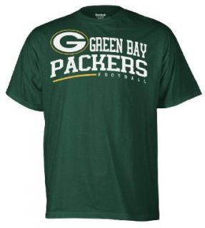 NFL Green Bay Packers Arched Horizon Tee Shirt Mens