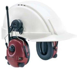 Peltor Alert Hearing Protection Headset, 23dB, Hard Hat