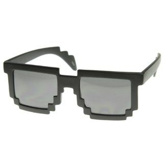 com MLC Eyewear 8 Bit Black Sunglasses CPU Gamer Geek Glasses Shoes