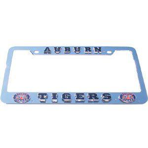 Auburn Tigers License Plate Tag Frame   NCAA College