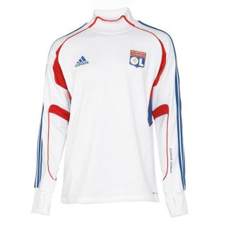 Coloris  blanc, bleu et rouge. Sweat Replica 11/12 Olympique Lyonnais
