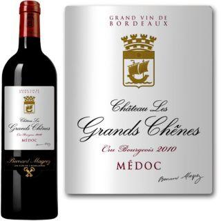 Château Les Grands Chênes   AOC Médoc   Millésime 2010   Vin rouge